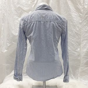 Hollister Tops - Hollister Striped long sleeved button down blouse